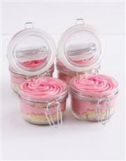 Turkish Delight Cupcake Jars