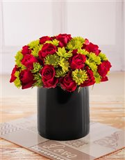 Red roses have long been associated with love, aff