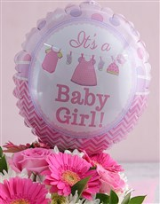 Spoil the new born baby girl and mother with this