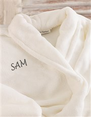 Personalised Dressing Gown - Adult