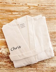 White cotton dressing gowns - Large and XL <i><b>A