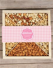 Make someone's day with this wooden tray which is