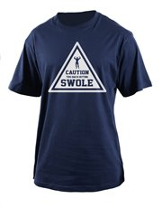 Let dad work out in style with this cool T-shirt w