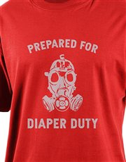 Spoil he who is prepared for diaper duty with this