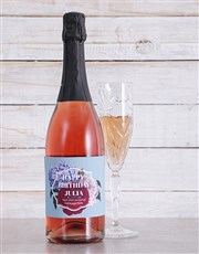 Spoil  a loved one with a bottle of sparkling Rosé
