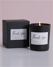 Thank a loved one with this unique candle gift. A
