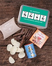 Personalised Periodic Table Snack Tin