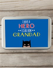 Personalised Grandpa Snack Tin