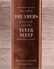 Personalised Dreamers Wine Crate