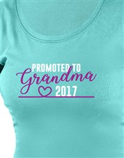 Let her brag about being promoted to grandma with