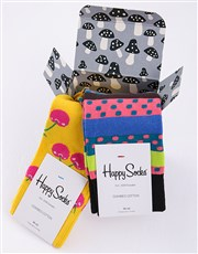 Make her extra happy with this Happy Socks giftbox