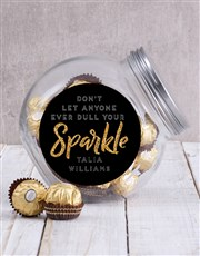 Personalised Sparkle Candy Jar