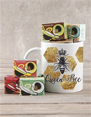 Spoil that queen bee with this useful mug which fe