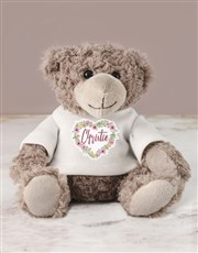 Give him or her a cuddly reminder of how much you