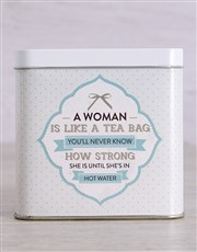 Spoil that strong woman with this amazing tea tin