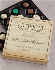 Spoil that certified best teacher with this awesom