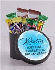 Personalised Sweeten Your Day Hat Box