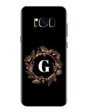 Personalised Flower Crown Samsung Cover