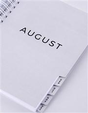 Personalised Blue Pattern Journal