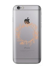 Personalised Flower Crown iPhone Cover
