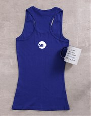 Spoil someone near and dear with this royal blue L