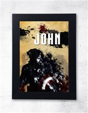 Spoil that Captain America fan with a hanging plai