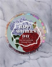 Personalised Mother's Day Fruit & Nut Tub