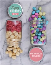 Personalised Mothers Day Fruit Jar Set