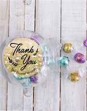 Say thank you in style with this candy jar which f