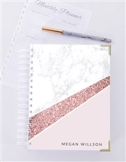 Personalised Marble Journal
