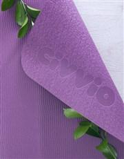 Personalised Lotus Flower Yoga Mat