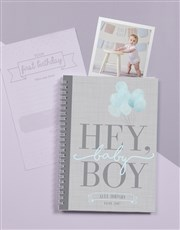 Personalised Babys First Year Journal