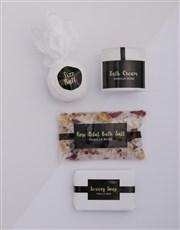 Personalised Gold Bath Keepsake Box
