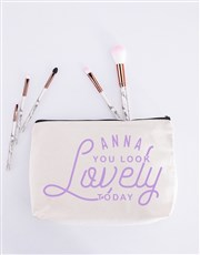 Personalised You Look Lovely Cosmetic Bag