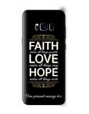 Personalised Faith Samsung Cover