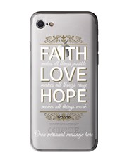 Personalised Faith iPhone Cover