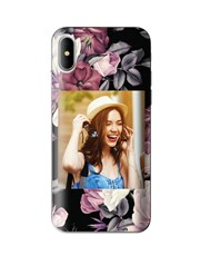 Personalised Floral Photo iPhone Cover