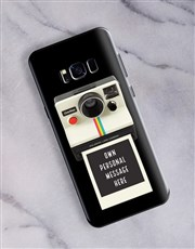 Personalised Polaroid Samsung Cover
