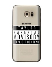 Personalised Explicit Content Samsung Cover