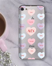 Personalised Sweetheart iPhone Cover