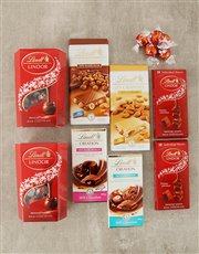 A delicious Lindt chocolate hamper that includes d