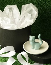 Introducing the Purrrrrrfect Gift! This ceramic te
