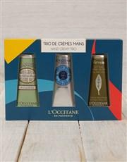 This L'Occitane Hand Cream Trio will ensure smooth
