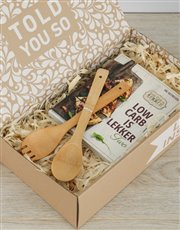Spoil the carb-conscious person in your life with