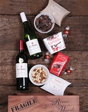 Spoil a loved one with this crate full of gourmet