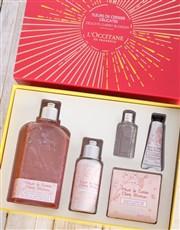 L Occitane Cherry Gift Box