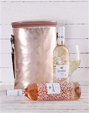 Rose Gold Double Wine Cooler