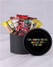 Grandparents Make Life Special Choc Hat Box