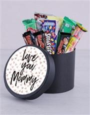Chocolate Hat Box