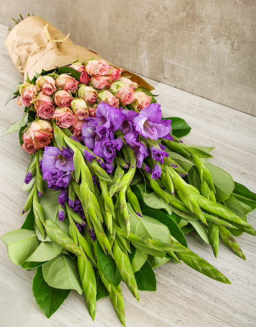 seasonal: Lilac and Purple Passion Bouquet!